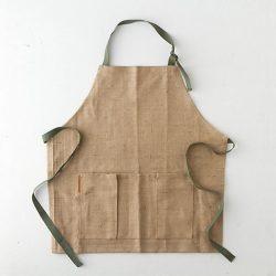jute garden apron