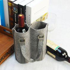 wine bag felt